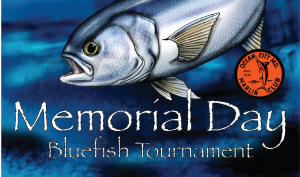 marlin club memorial day bluefish tournament logo