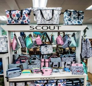 scout products on shelves